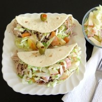 Pork Tacos with Harvest Slaw #TheRecipeReDux