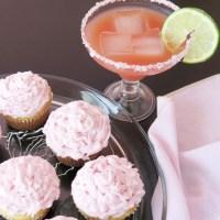 Pink Cadillac Margarita Cupcakes