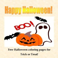 Free Halloween Coloring Pages #skipthecandy