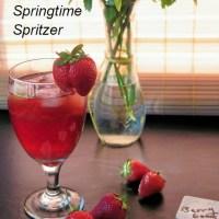 Very Berry Springtime Spritzer #SundaySupper