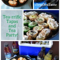 Tea-rrific Tapas Party  #TrueTeaTaste #ad