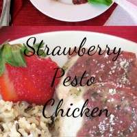 Strawberry Pesto Chicken #SundaySupper #FLStrawberry