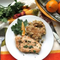Meyer Lemon Chicken Piccata #SundaySupper