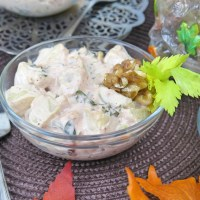 Cranberry Walnut Potato Salad #SundaySupper