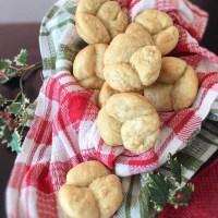 Kamut Cloverleaf Rolls #BreadBakers