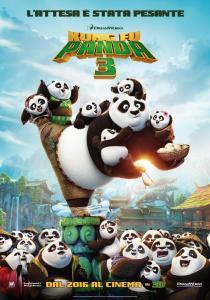 kung fu panda 3 poster italiano fabio volo