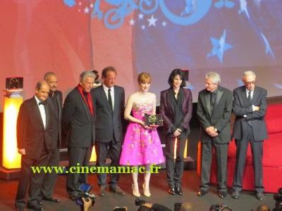 Jessica Chastain et le jury 2014