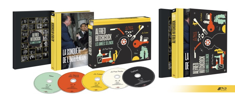 «Hitchcock, les années Selznick» /coffret DVD ultra-collector