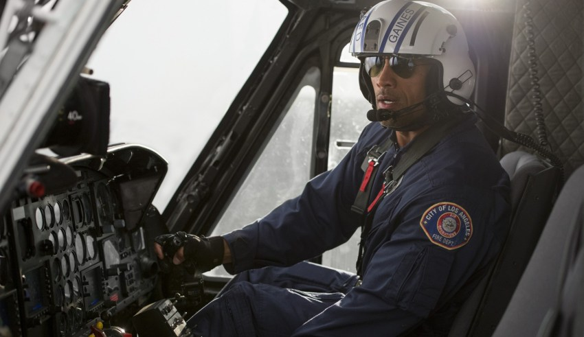 """Dwayne """"The Rock"""" Johnson stars in Warner Bros. Pictures' """"San Andreas"""""""