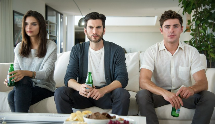 Emily Ratajkowski, Wes Bentley and Zac Efron star in Warner Bros. Pictures' WE ARE YOUR FRIENDS