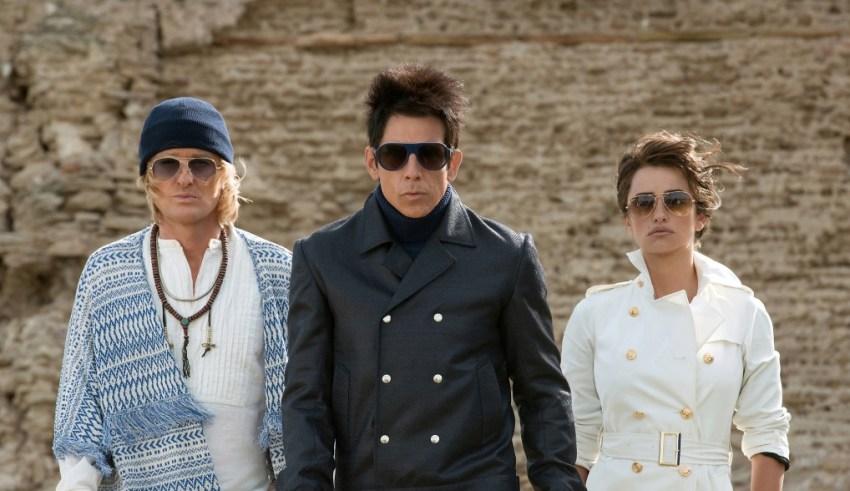 (L-r) Owen Wilson, Ben Stiller and Penelope Cruz star in Paramount's ZOOLANDER 2