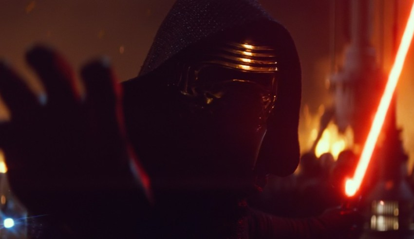 Adam Driver stars in Star Wars: The Force Awakens Lucasfilm