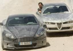 Aston Martin de James Bond.