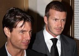David Beckham estrella de cine.