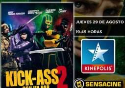 "Concurso Preestreno ""Kick-Ass 2""."