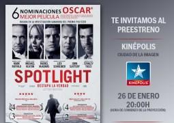 ¿Quieres asistir al Preestreno de Spotlight en Madrid?, Concurso Terminado