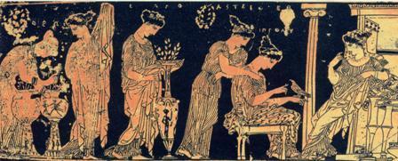 La famiglia nell 39 antichit esperienziando vitae for Vasi antica grecia