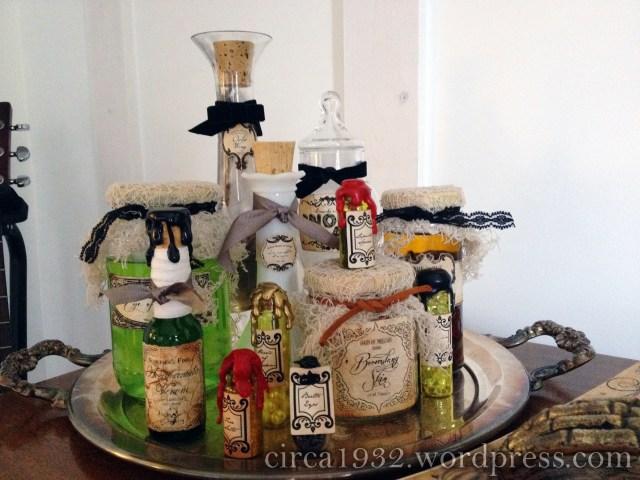 halloween bar potion ingredients