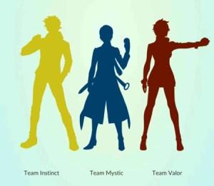 Pokemon Go teams are like Circle of Hope