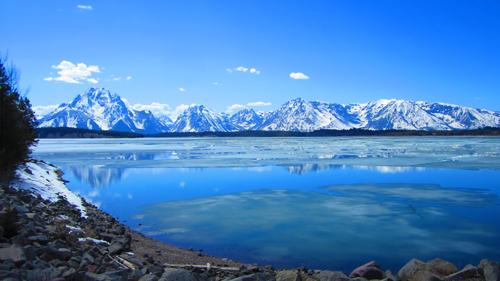 mountain range in America