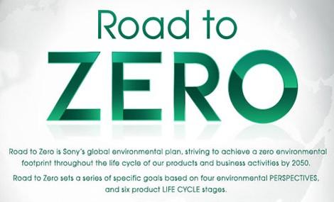 Sony taglia il traguardo dell'eco-sostenibilità