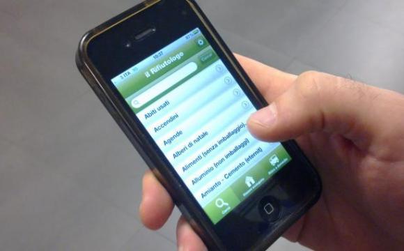 Rifiutologo, app dei record