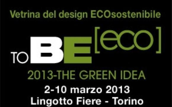 ToBEeco, l'eco-design in mostra a Torino