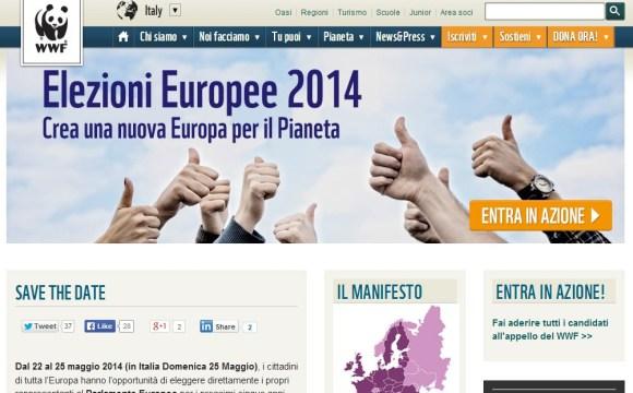Campagnia WWF per le Elezioni Europee