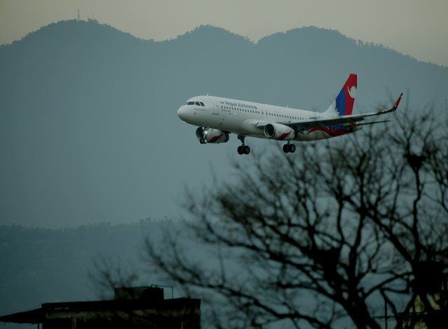 Airbus A320 Arrives