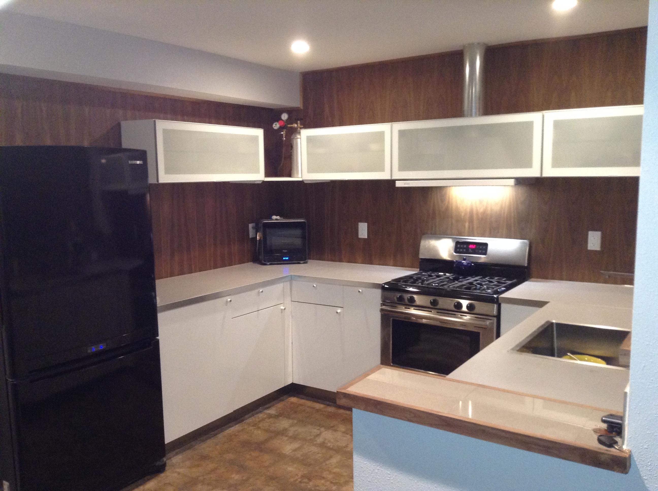 my ikea kitchen install ikea kitchen countertops My Ikea Kitchen Install img