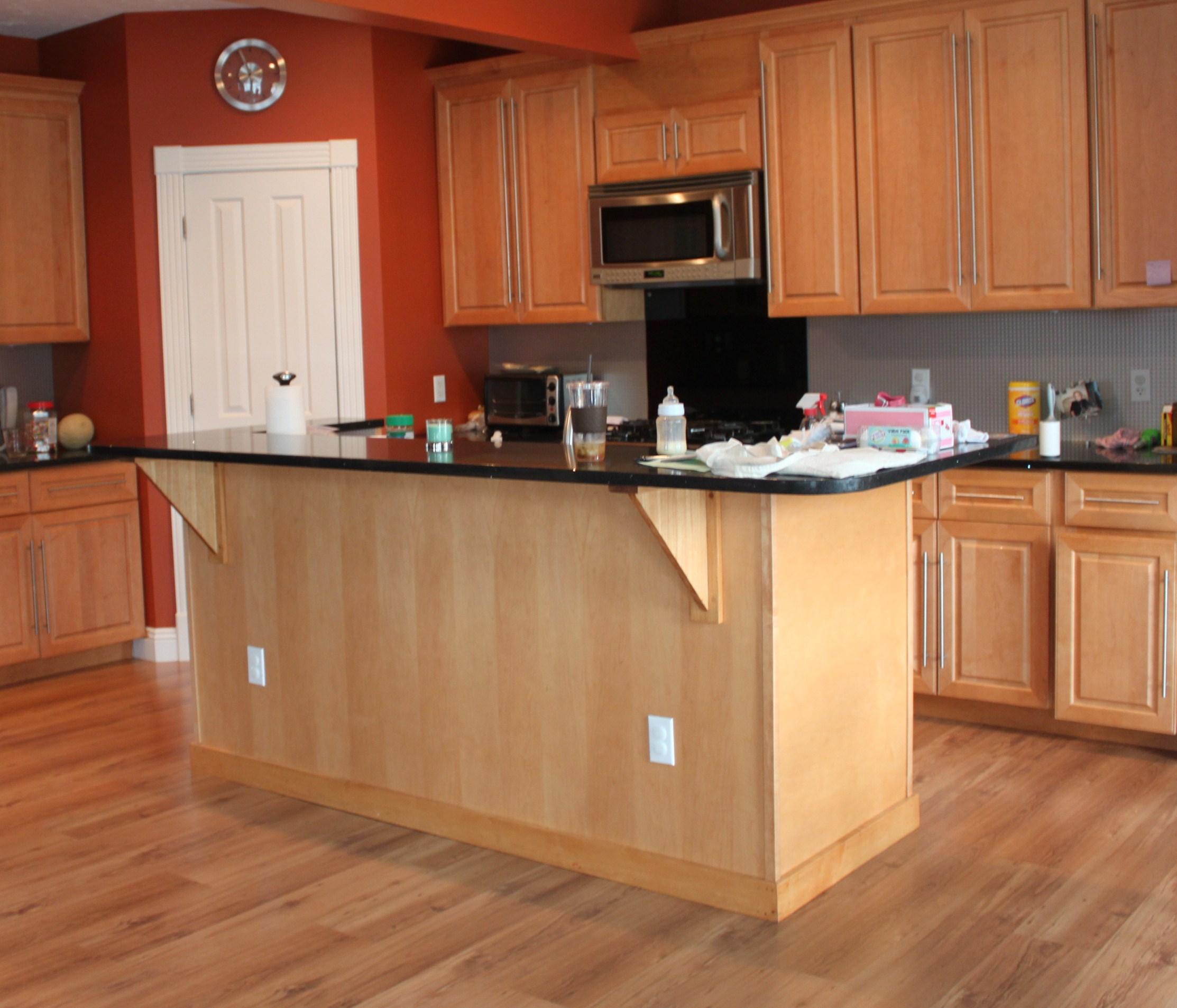 kitchen hardwood floor in kitchen Kitchen img