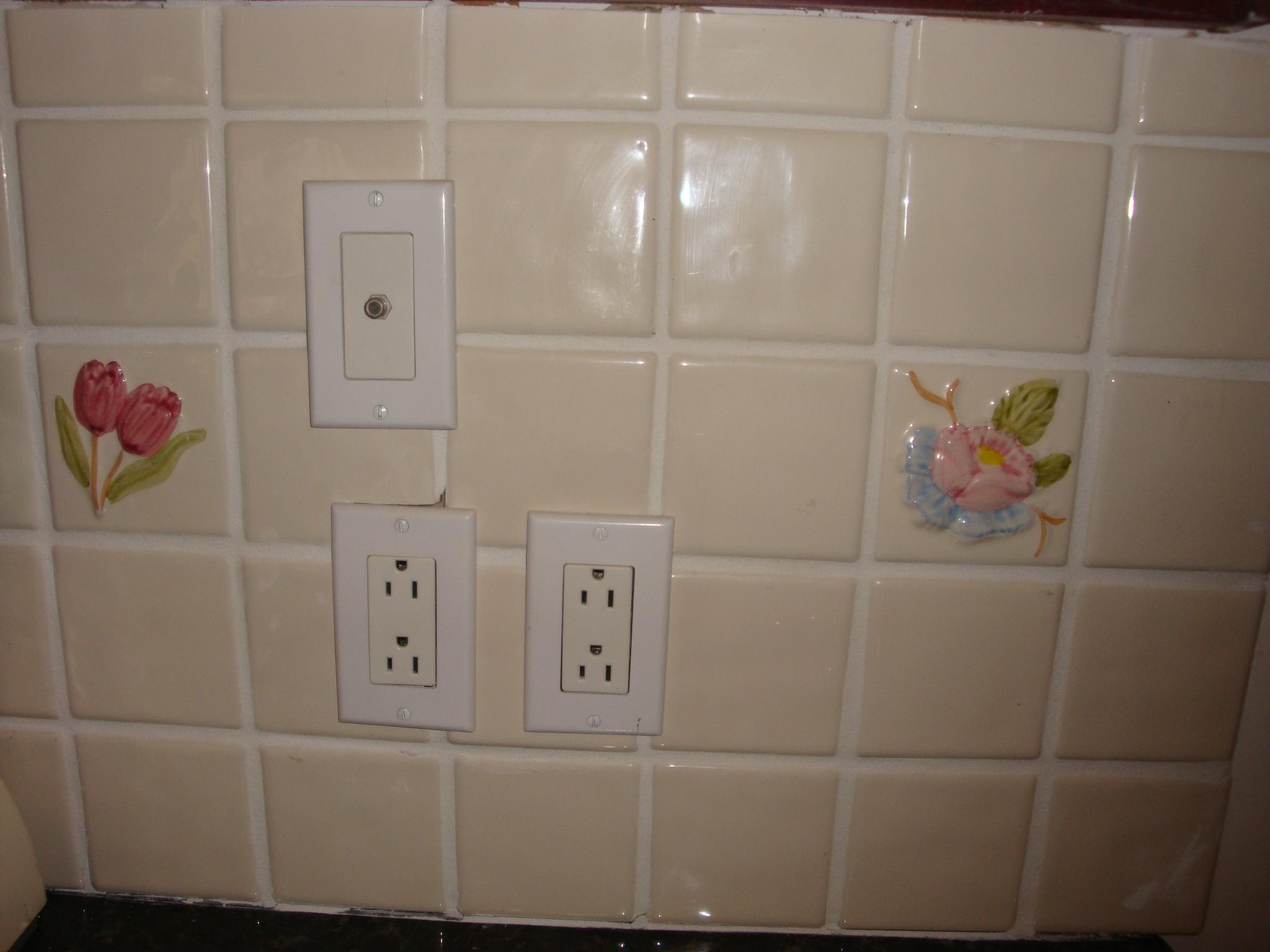 replacing kitchen backsplash tile kitchen backsplash Replacing kitchen backsplash dsc