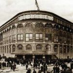 Ebbets Field, anchor of Brooklyn's diverse communities , pictured on its opening day in 1913