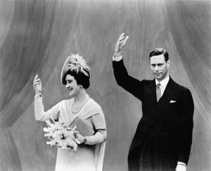 H.R.H.KingGeorge VI and Queen Elizabeth visiting the fair on June 10, 1939. The season before the British Pavillion bombing