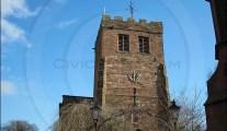 St Andrew's Church, Penrith, Cumbria.