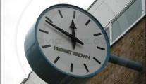 Arndale Centre clock – Morecambe