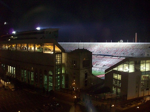 Ohio Stadium Night matches