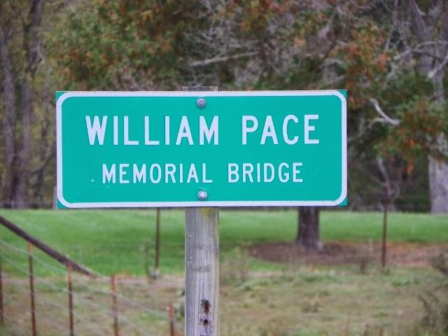 William Pace Memorial Bridge