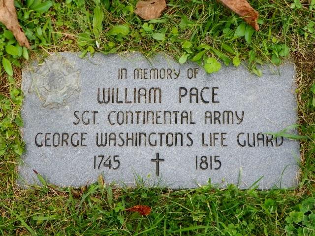 William Pace Sr. Headstone