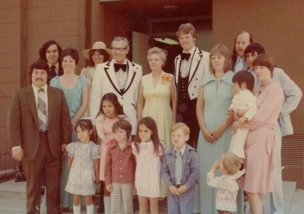 Flanagan Family Wedding 1970s