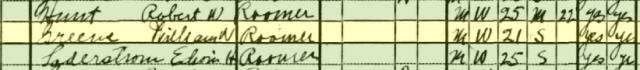 1930 US Census, San Francisco, California.