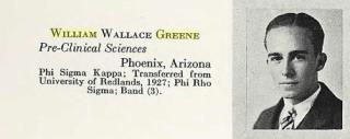 William Wallace Greene, 1929