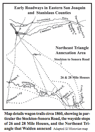 North Township Area Map - Stanislaus Historical Quarterly