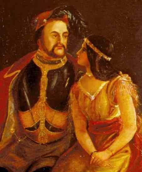 Rolfe and Pocahontas