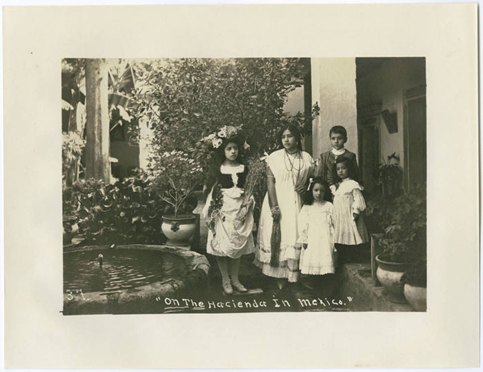 On the hacienda in Mexico, SMU Libraries Digital Collections