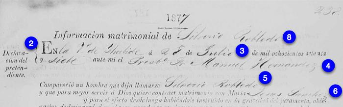 Silverio Robledo and Maria Jesus Sanchez, Part 1