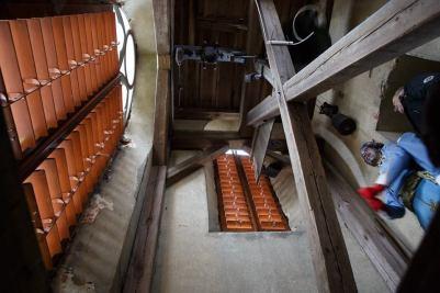 ... komu zvoní hrana v kapli sv. Antonína v Heřmanicích v Podještědí? No přece jedný anjelský krasavici, jak taky jinak :) ...