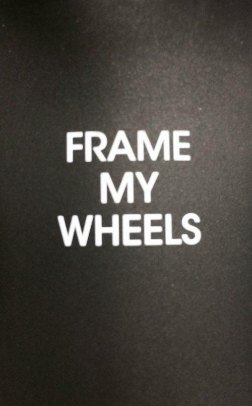 ... v případě rámů a kol Lightweight ....