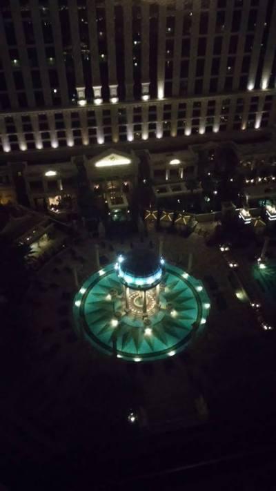 ... a taky na fontány. To je romantika bejt se Škvarkynem na jednom pokoji :) , Vám řeknu...