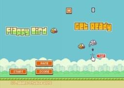 Imagem do game 'Flappy Bird': média de 2,5 milhões de downloads diários